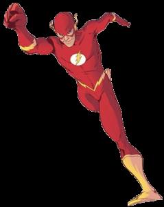 Bart Allen as the Flash by Karl Kerschl