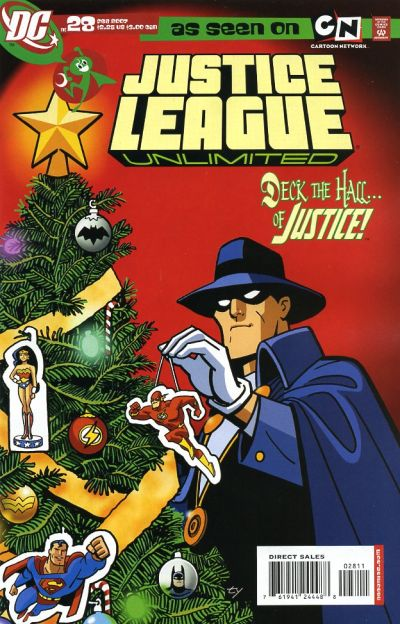 Flash Christmas Covers Speed Force