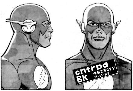 The Flash's Mug Shot (Flash v.1 #326, October 1983)