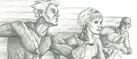 Speedsters by Drawing Power: Quicksilver, Daphne, and the Flash