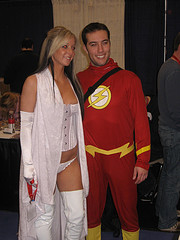 Flash and White Queen
