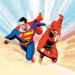 Superman vs the Flash