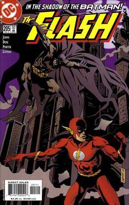 Flash #205: In the Shadow of Batman