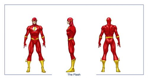 Character Design In Flash : Dcu online flash concept art and screenshots reveal