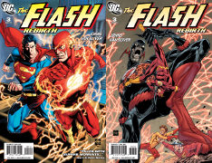 Flash Rebirth #3 Covers