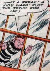 Midget Joe in his second appearance.