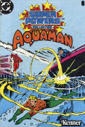Super Powers Aquaman Cover