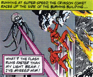 Flash vs. Braniac