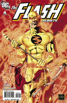 Flash: Rebirth #4 Variant Cover
