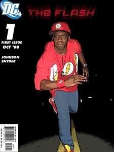 Devin Johnson as the Flash #1