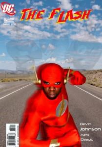 Devin Johnson as Flash #12