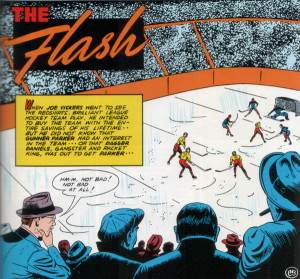 [Splash Page: All-Flash Hockey Game]