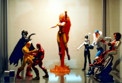 Display Case Figures 1