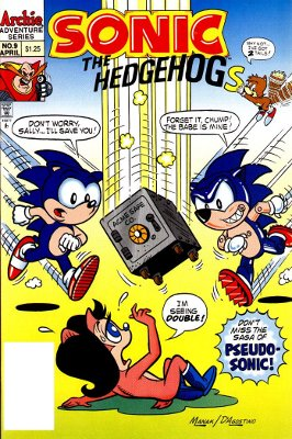 Sonic #9: Seeing Double