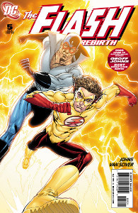 Flash: Rebirth #5 - Alternate Cover