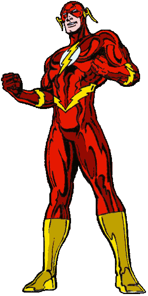 Flash: Wally West - Shiny Costume