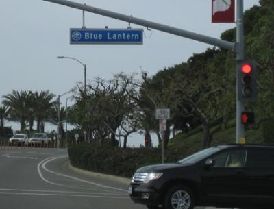 Street sign: Blue Lantern
