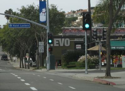 Street Sign: Violet Lantern