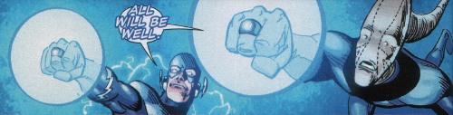 Blue Lanterns Barry Allen and Saint Walker: All Will Be Well