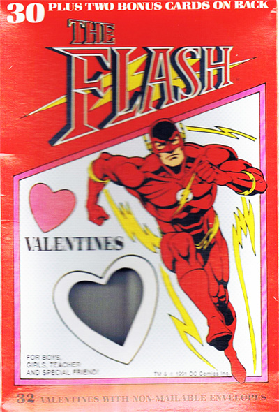 Flash Themed Valentine S Day Cards Speed Force