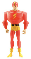 Matty Collector: The Streak (Justice Guild) action figure.