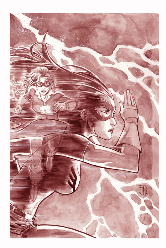 Jesse Quick Variant Cover Francis Manapul Original