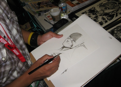 The Flash Sketch Art
