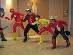 Flash vs Rogues 02