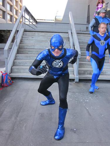 Flash Blue Lantern
