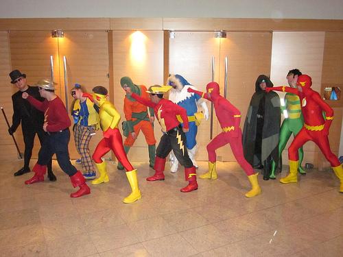Flash vs Rogues 04