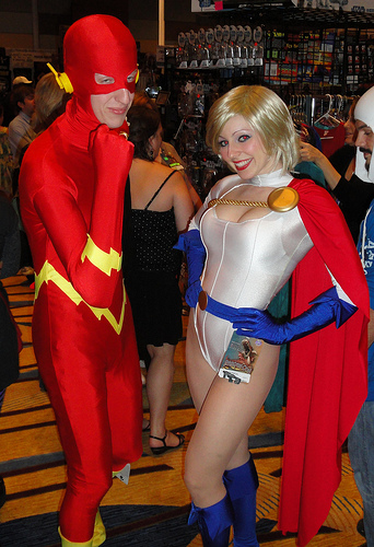 Flash & Power Girl
