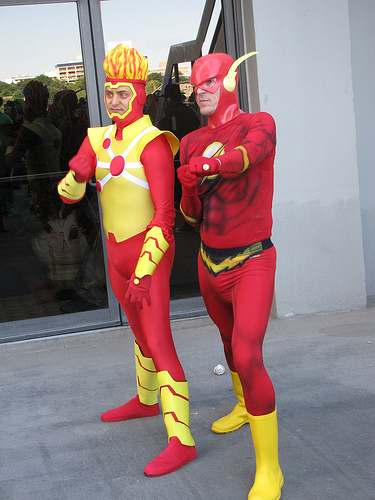 Firestorm and the Flash