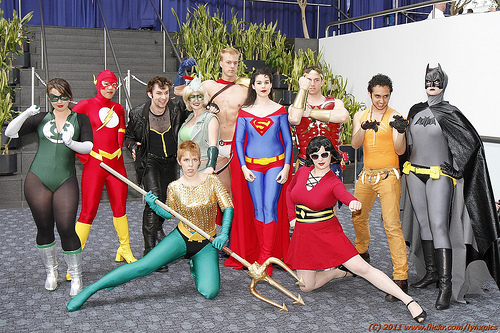 Gender-Swapped Justice League by United World, photo by LynxPics
