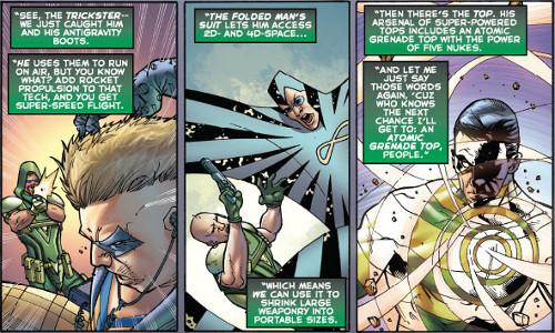 Better Business Through Confiscating Supervillain Tech Flashpoint Green Arrow Industries