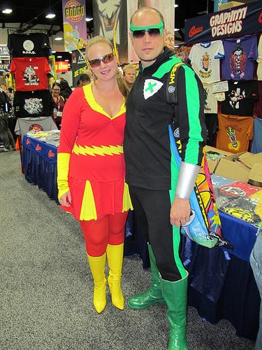 Comic-Con 2011: Flash, Green Lantern