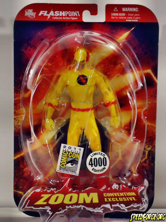 sdcc 2011 graphitti designs dc direct exclusive flashpoint zoom pics