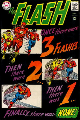 Once there were 3 Flashes...Then there were 2...Then there was 1...Finally...there was NONE!