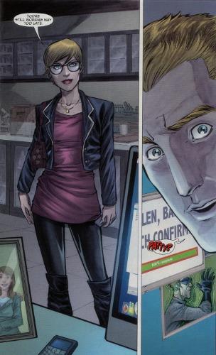 Patty Spivot (Flash #10)
