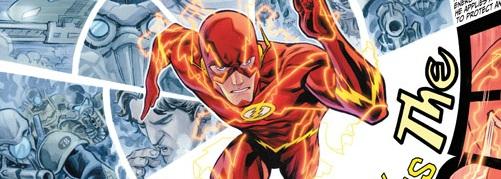 Flash #1 Banner