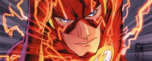 Flash v4 #1 banner