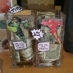 Green Lantern vs. the Flash tip jars