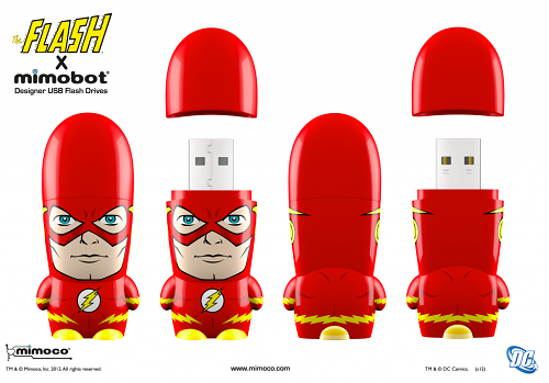 DC Comics: The Flash USB thumb drive from Mimobot