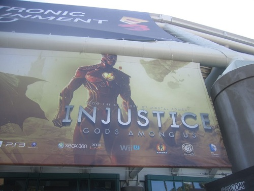 Flash on E3 Banner - Injustice: Gods Among Us