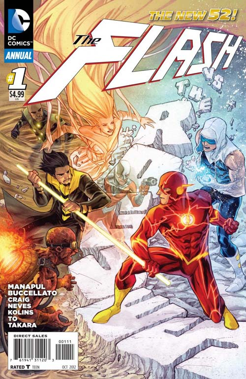 Flash Annual #1 Cover