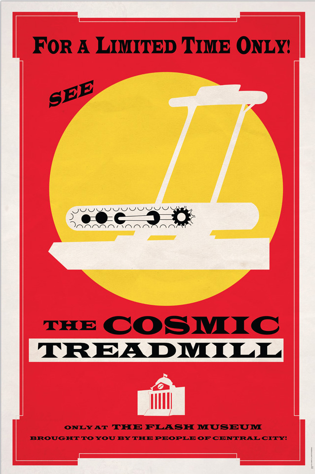 Poster: For a Limited Time Only! See the Cosmic Treadmill at the Flash Museum!