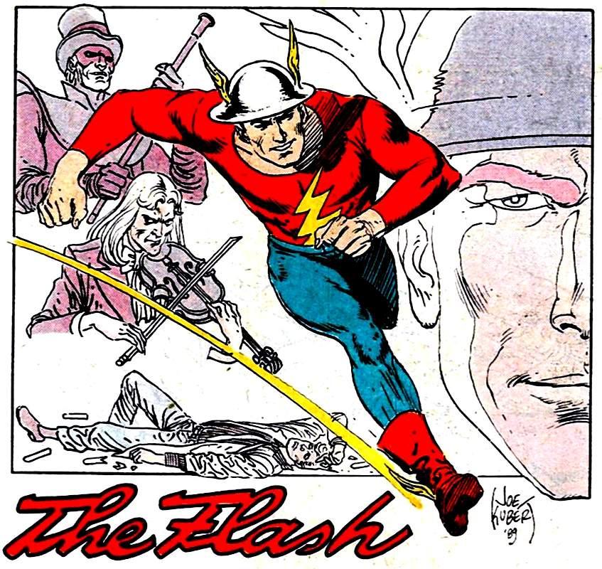 Flash: Jay Garrick by Joe Kubert