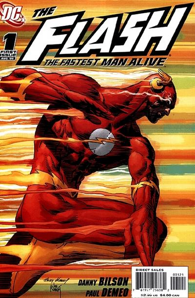 Flash: The Fastest Man Alive #1 Variant Cover by Andy Kubert and Joe Kubert