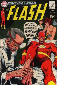 Flash #190 cover by Joe Kubert