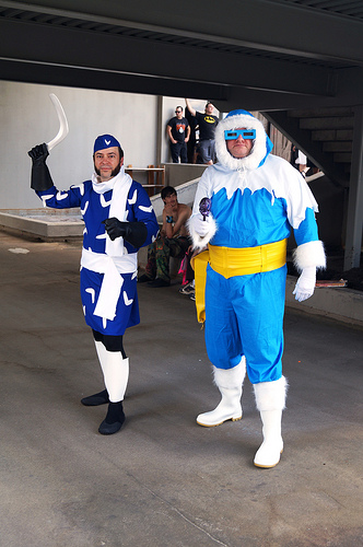 Captain Boomerang and Captain Cold at Dragon*Con 2012 by The Irredeemable Shag