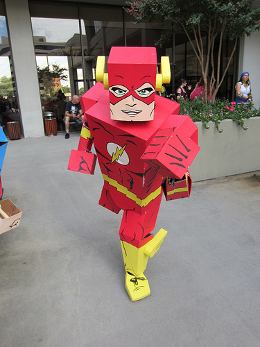 Box Flash at Dragon*Con 2012 by The Irredeemable Shag